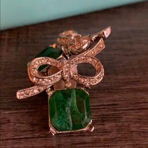Kenneth Jay Lane Bow clip on earrings